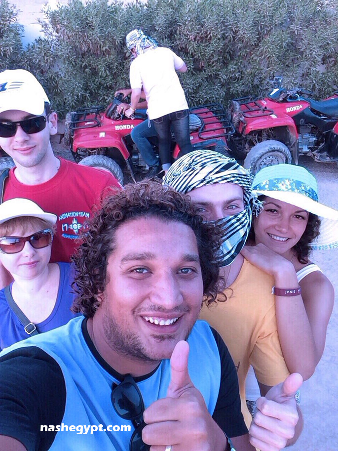 Экскурсия с Каримом по пустыням Египта