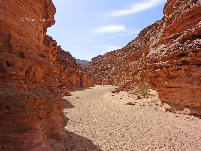 Цветной каньон в Египте