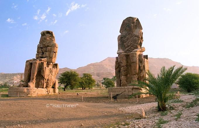 Экскурсия в Луксор, Египет