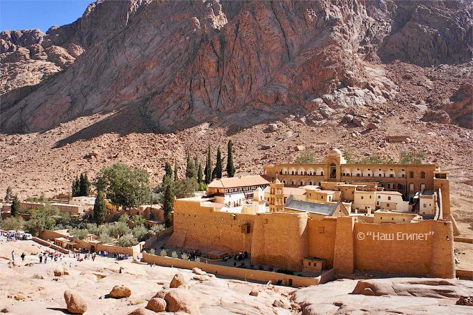 Монастырь святой Екатерины, Шарм Эль Шейх, Египет