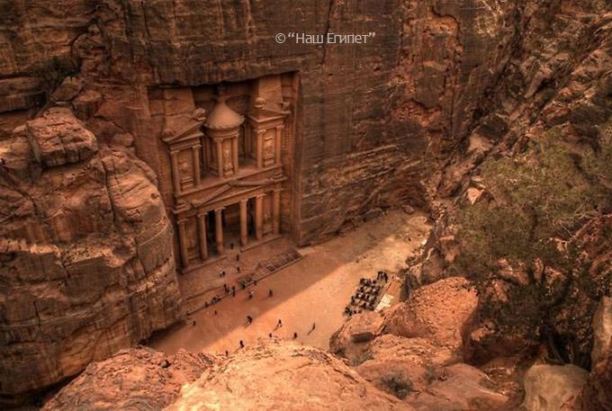 Петра, Иордания, экскурсия из Шарм эль Шейха