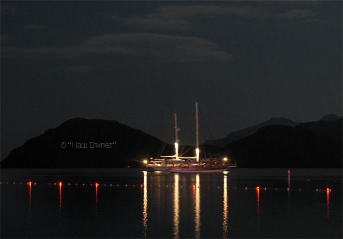 Вечерняя яхта, Шарм эль Шейх